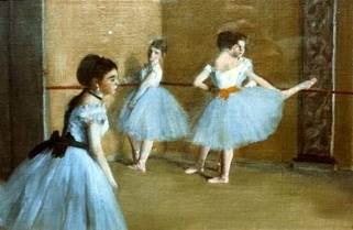 Dance Class At The Opera Art - Edgar Degas (1872) front image (front cover)