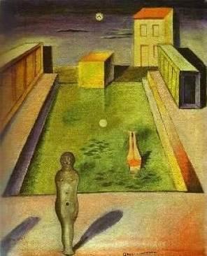 Aquis Submersus Art - Max Ernst (1919) front image (front cover)