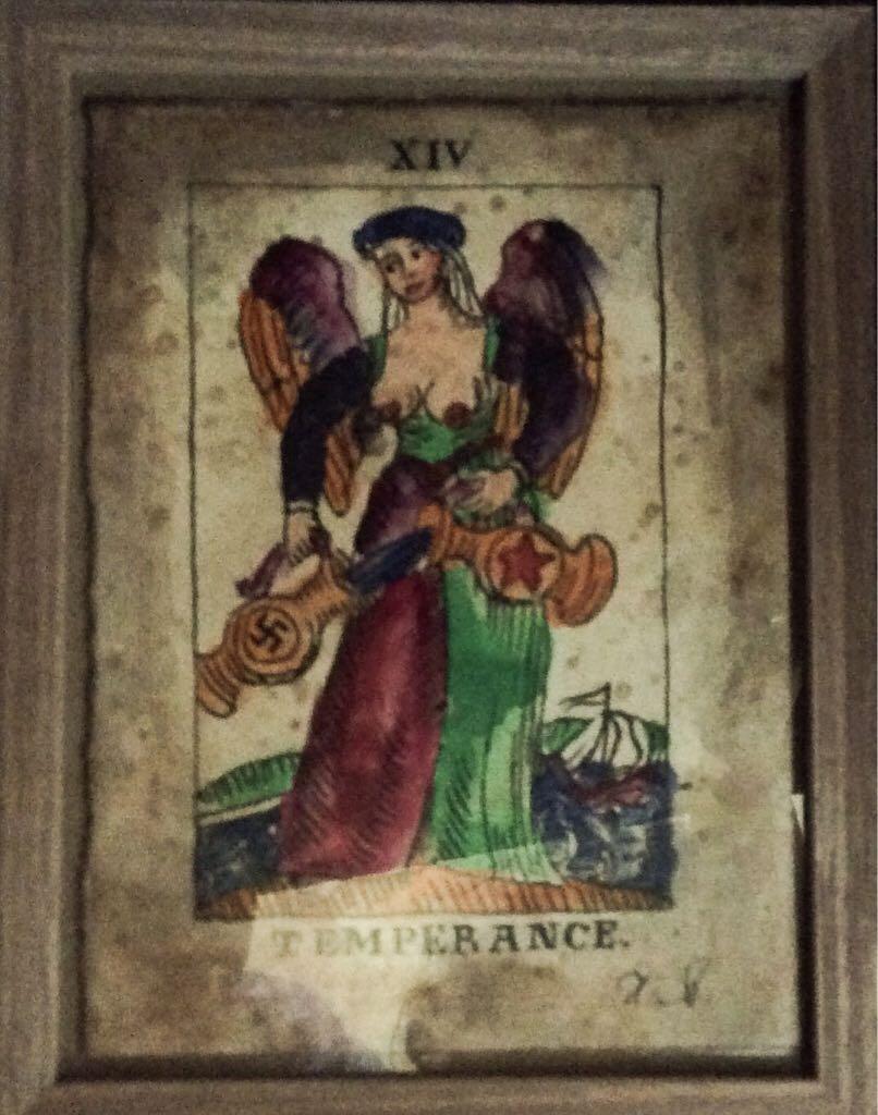 Temperance  Tarot Card Art - Makarevich Igor (1994) - from