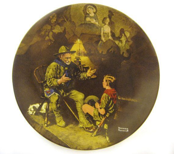 1990 The Old Scout Art - Rockwell, Norman (1990) front image (front cover)