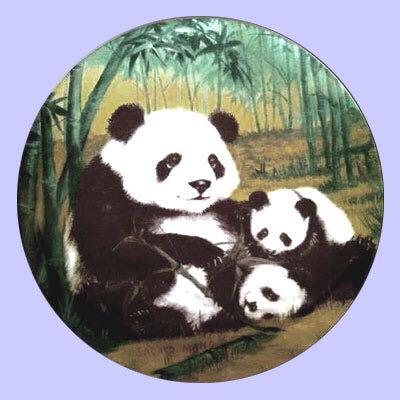 1981 Asian Pandas Art - Sadako Mano (1981) front image (front cover)