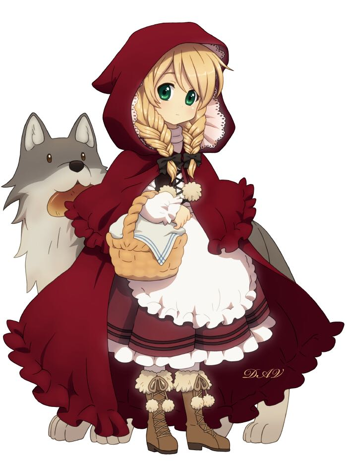 3 Red Riding Hood Art - Kaiser front image (front cover)