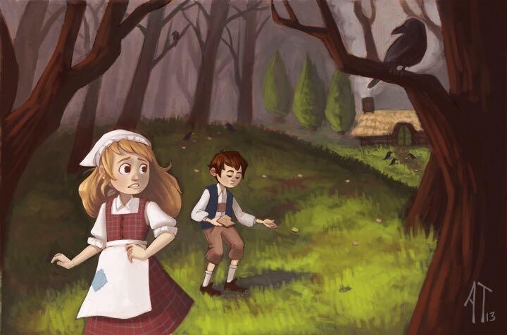 4 Hansel & Gretel Art - Kaiser front image (front cover)