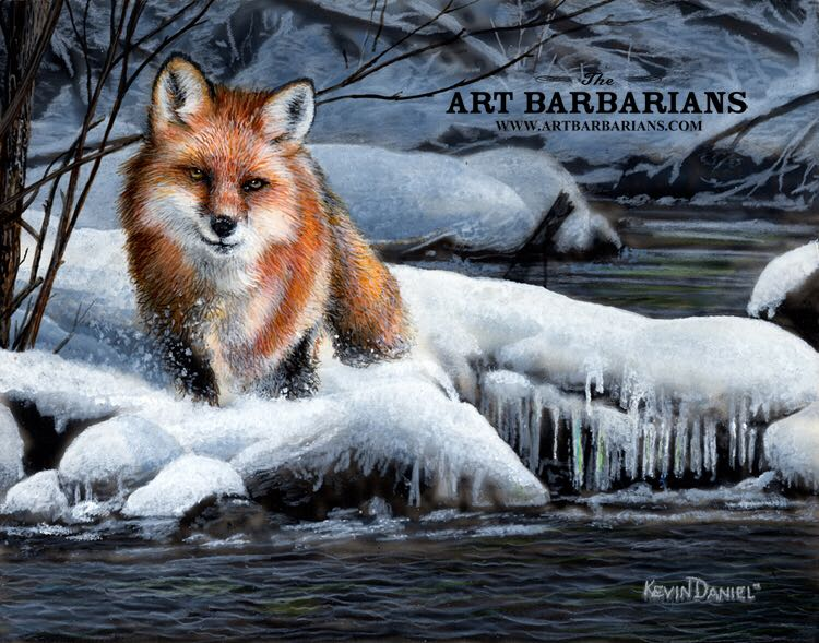 The Fox Art - Kevin Daniel (1988) front image (front cover)