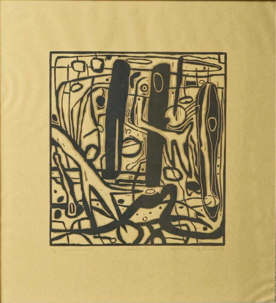 Abstrakcija I Art - Grigaliūnas Kęstutis front image (front cover)