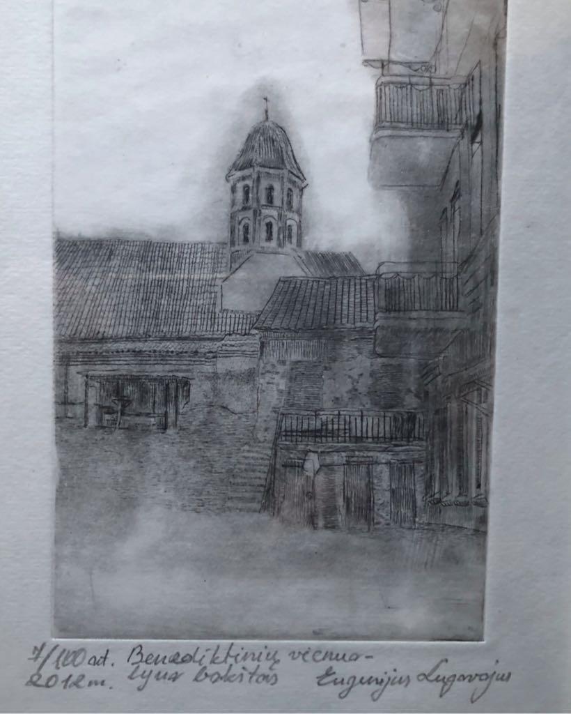 Benediktiniu Vienuolyno Bokštas Art - Lugavojus Eugenijus (2012) front image (front cover)