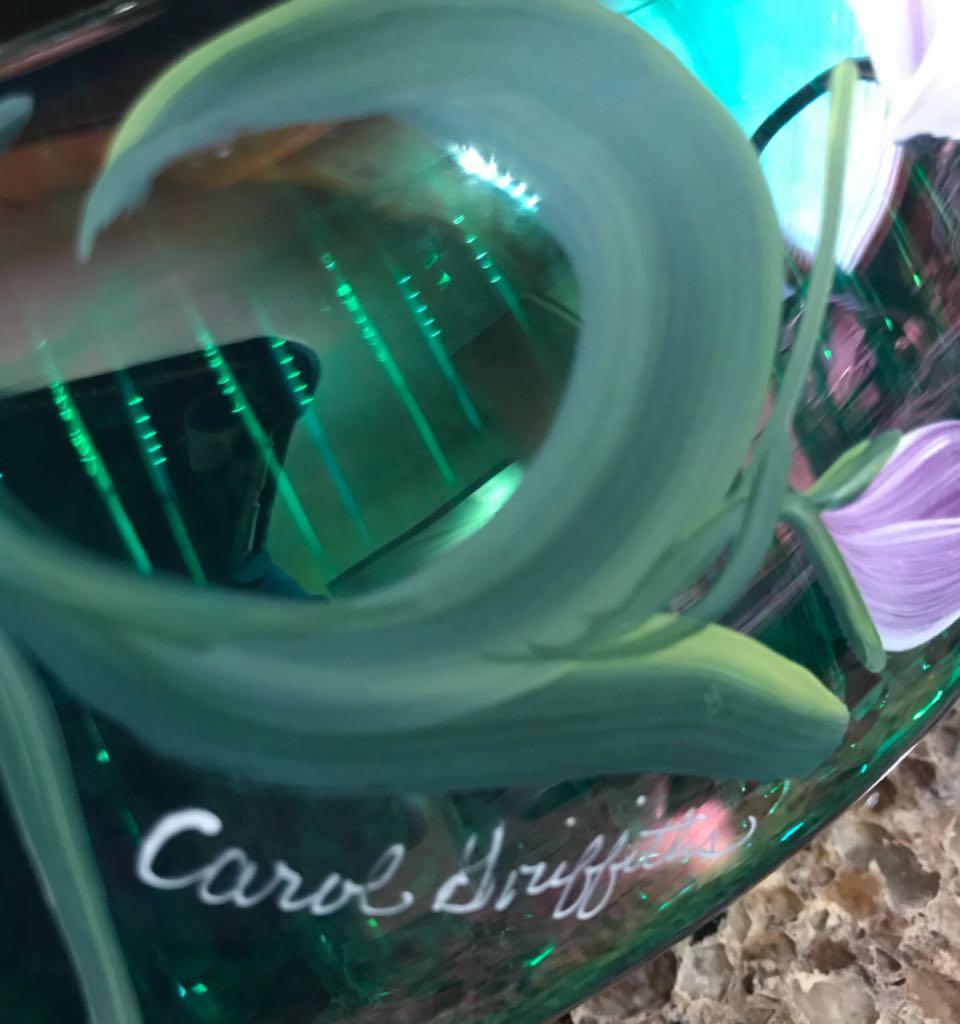 Bowl Art - Carol Griffiths back image (back cover, second image)