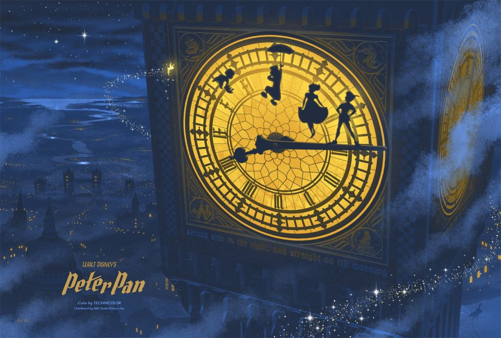 Peter Pan Art - Kevin Wilson (2015) front image (front cover)