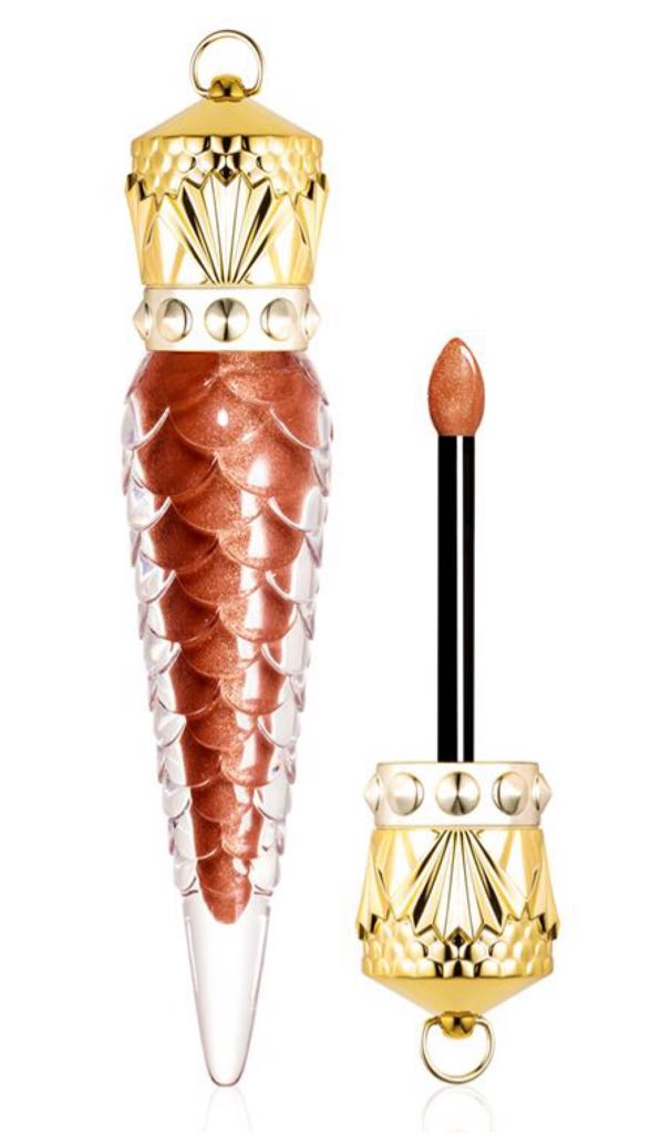 Christian Louboutin Loubilaque Lip Lacquer Metalinudes-Bronzissima Art - Christian Louboutin (2019) front image (front cover)
