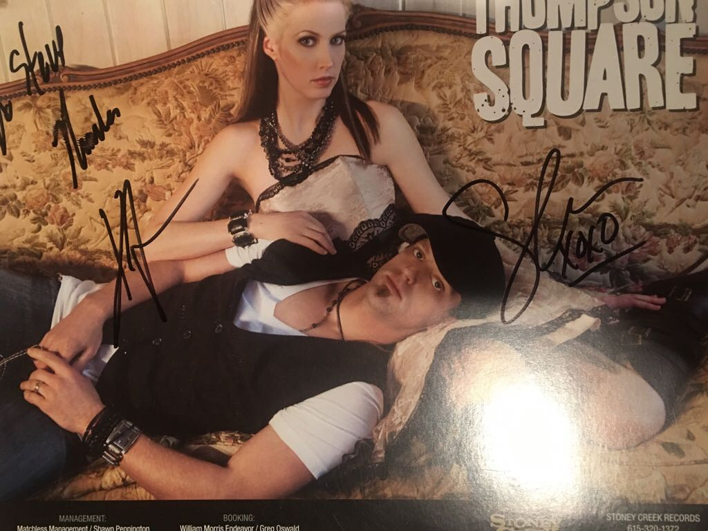 Thompson Square 1 Signed Art - Unknown (2000) front image (front cover)