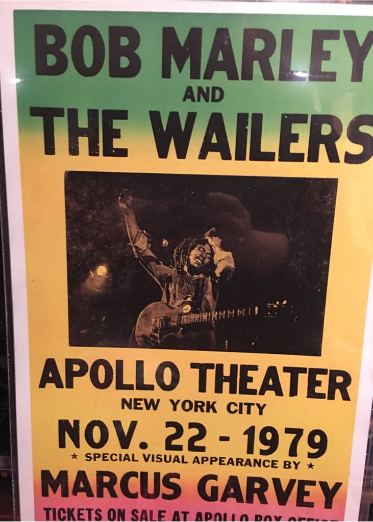 Bob Marley And The Warlies At Apollo Art - Unknown (1990) front image (front cover)