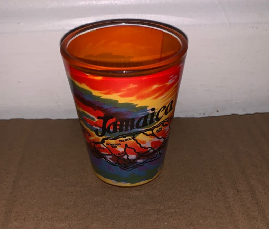 Jamaica Art - Shot Glass front image (front cover)
