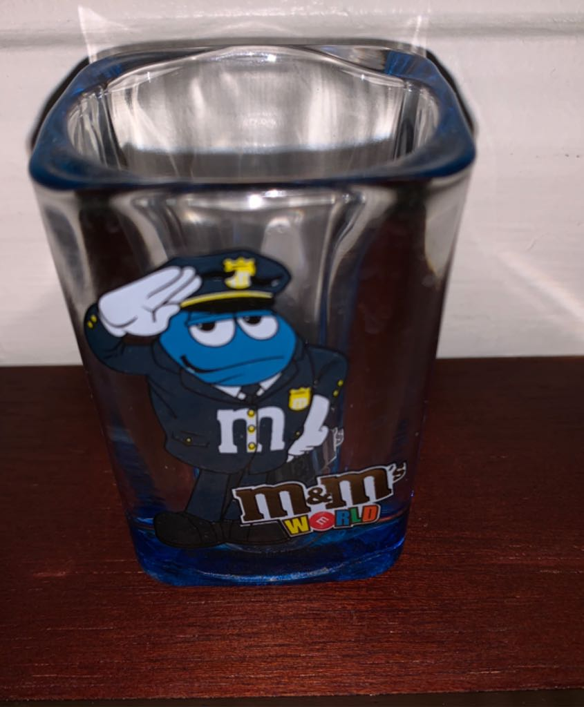 M&Ms Art - Shot Glass front image (front cover)