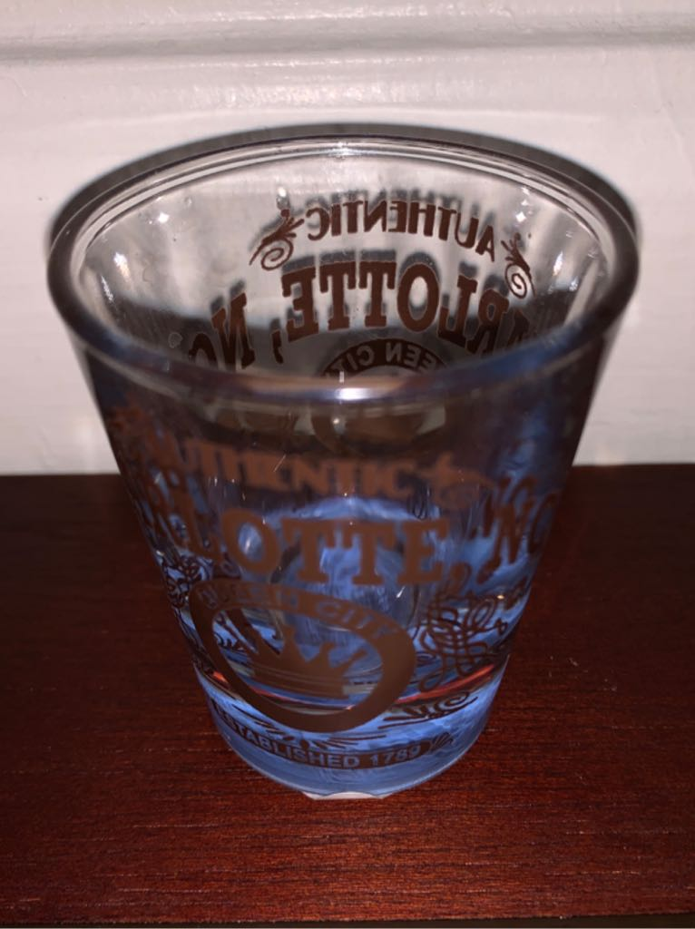 Charlotte NC Art - Shot Glass front image (front cover)