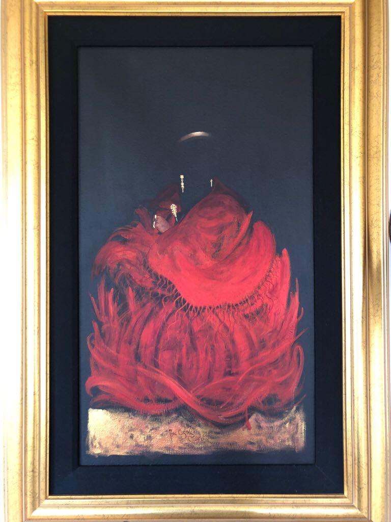 Cholita De Rojo #9 Art - Pablo Giovany (2012) front image (front cover)