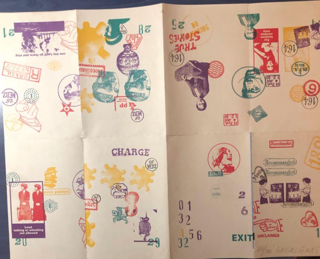 Antspaudai Art - Grigaliūnas Kęstutis front image (front cover)