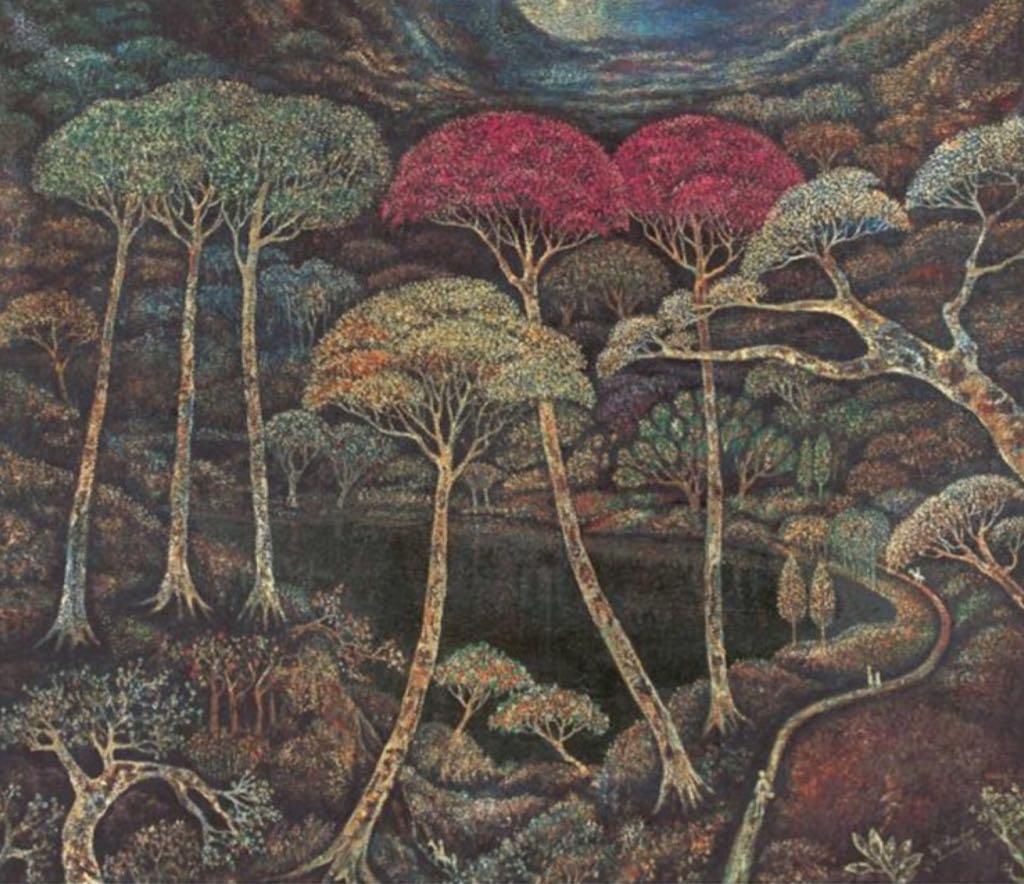 Forest Lane Art - Haji Widayat (1988) front image (front cover)