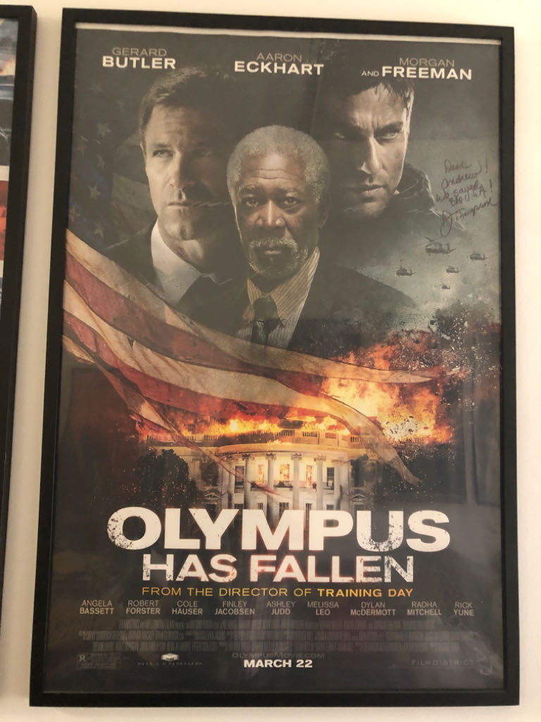 Olympus Has Fallen movie poster Art - Unknown Artist front image (front cover)