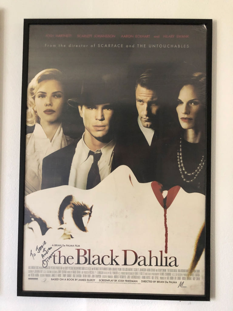Black Dahlia, The movie poster Art - Unknown Artist front image (front cover)
