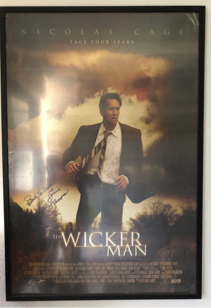 Wicker Man, The movie poster Art - Unknown Artist front image (front cover)