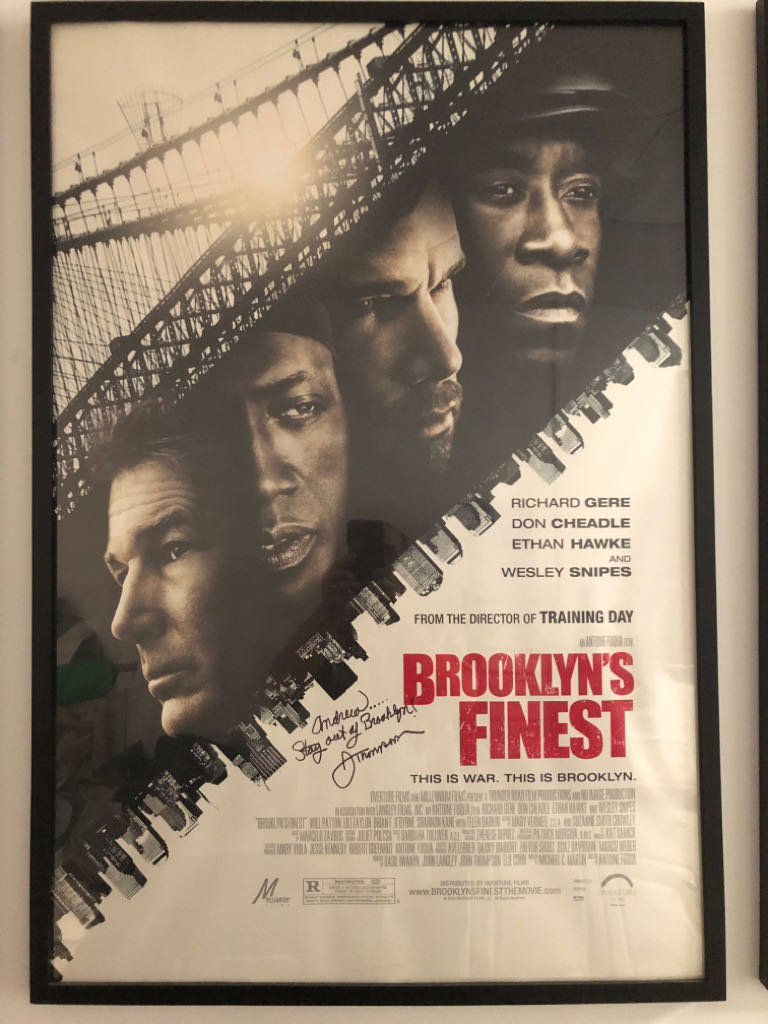 Brooklyn's Finest movie poster Art - Unknown Artist front image (front cover)