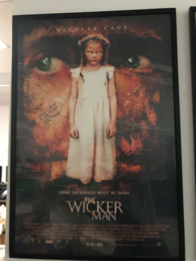 Wicker Man, The movie poster ver child Art - Unknown Artist front image (front cover)