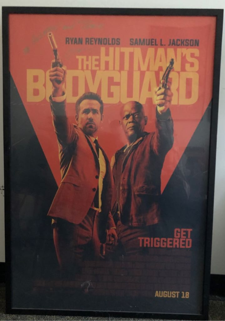 Hitman's Bodyguard, The movie poster Art - Unknown Artist front image (front cover)