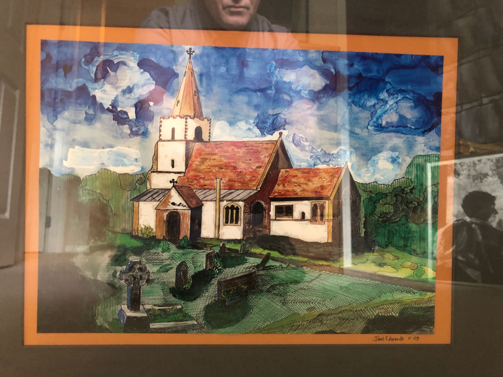 Church Art - Janie Edwards front image (front cover)