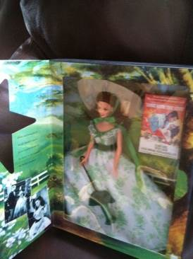 Hollywood Legends Scarlett O Hara Doll And Barbie (1994) front image (front cover)