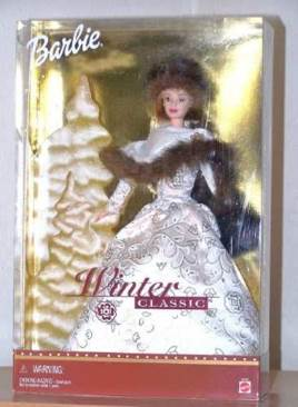 Winter Classic Doll And Barbie (2001) front image (front cover)