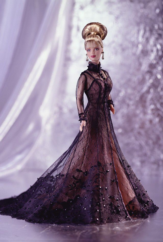 Nolan Miller Sheer Illusion Barbie Doll And Barbie - Designer - Nolan Miller (1998) front image (front cover)