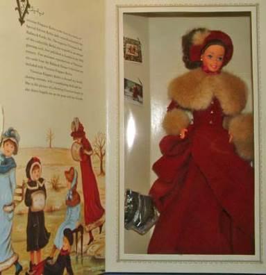 Victorian Elegance Barbie Hallmark 1994 Special Edition Doll Model 015012269529 Doll And Barbie - Hallmark (1994) back image (back cover, second image)