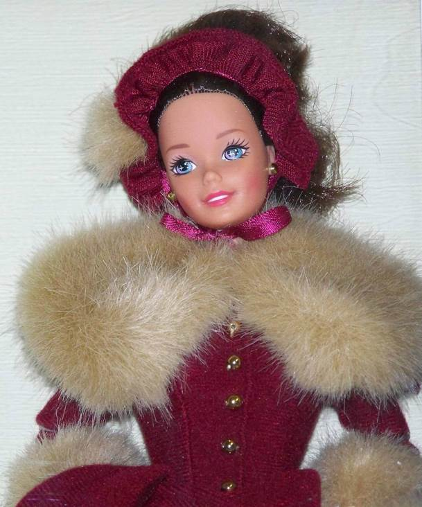 Victorian Elegance Barbie Hallmark 1994 Special Edition Doll Model 015012269529 Doll And Barbie - Hallmark (1994) front image (front cover)