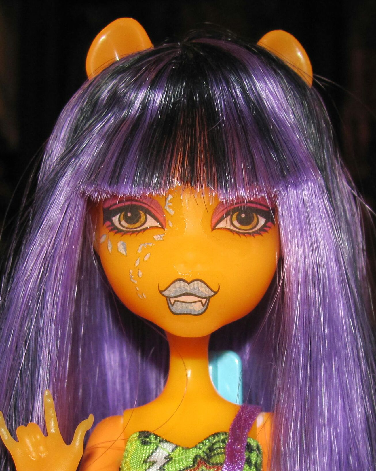 Create A Monster Design Lab Nocturnal Orange Doll And Barbie