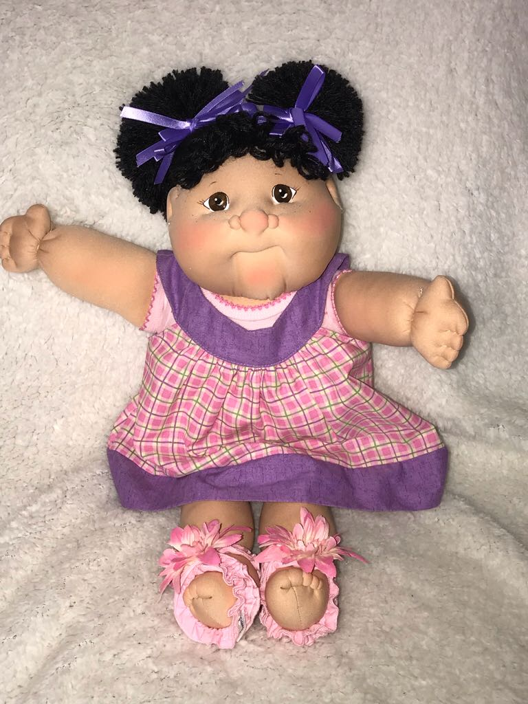 CPK SS (Avery Maya) 2012 Doll And Barbie - Soft Sculpture (2012) front image (front cover)