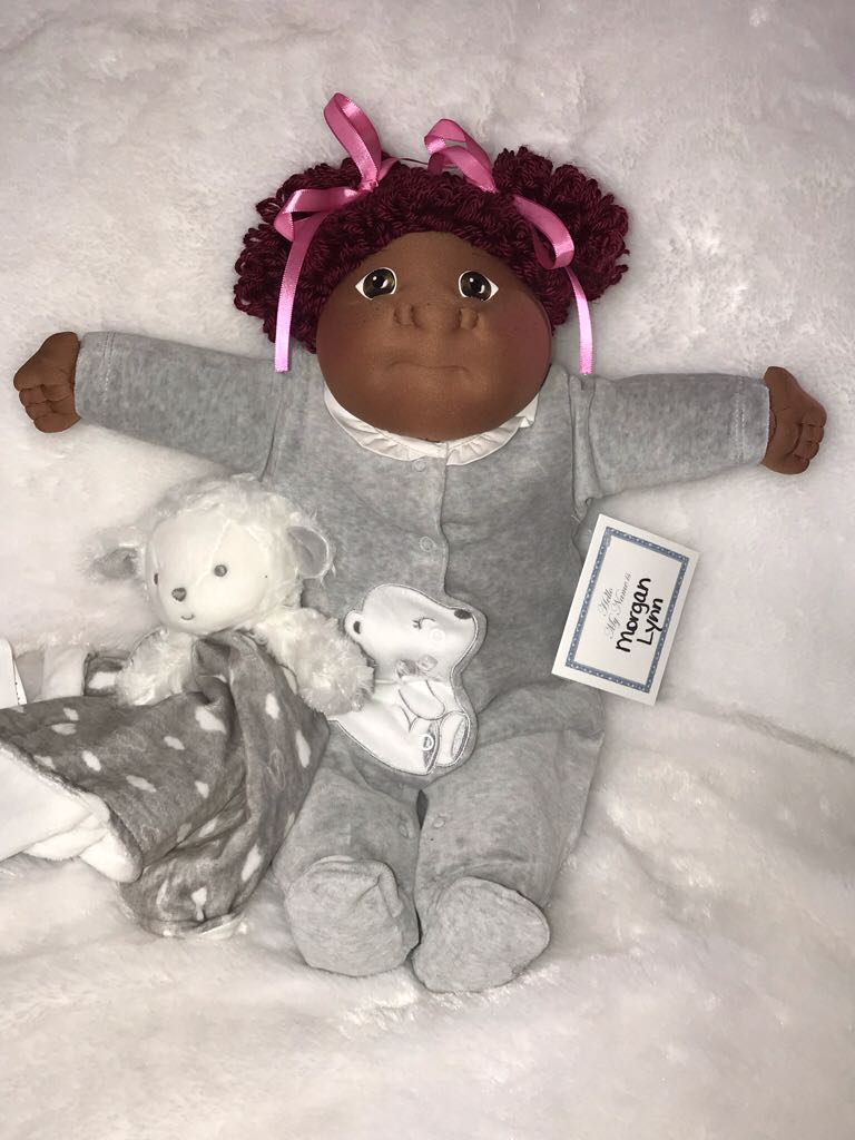 CPK SS (Morgan Lynn) CCE Preemie 2018 Doll And Barbie - Soft Sculpture (2018) back image (back cover, second image)
