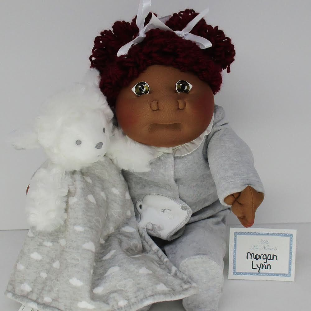 CPK SS (Morgan Lynn) CCE Preemie 2018 Doll And Barbie - Soft Sculpture (2018) front image (front cover)