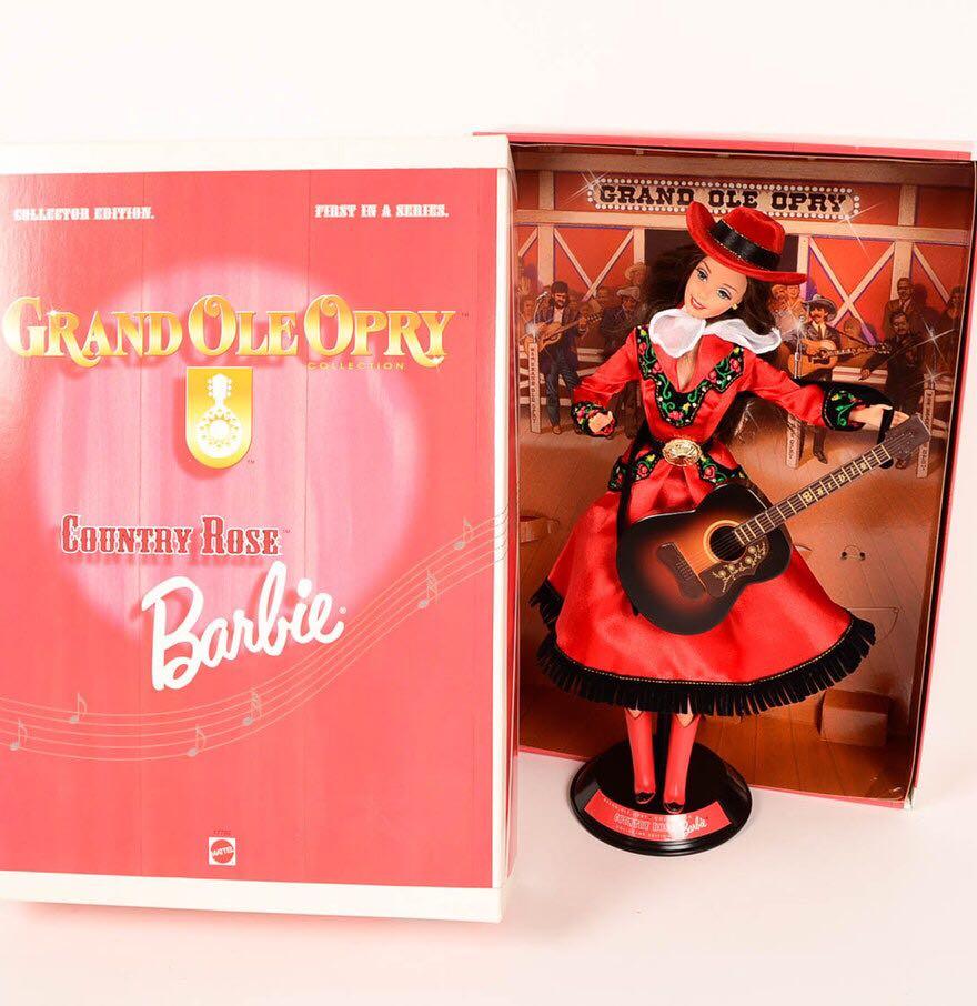 Grand Ole Opry Doll And Barbie back image (back cover, second image)
