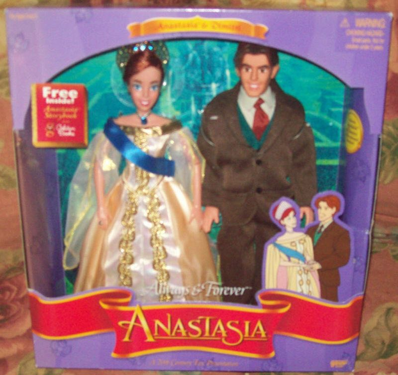 Anastasia Always And Forever Doll And Barbie front image (front cover)