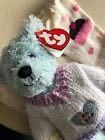 Gymboree VALENTINES GIFT HEART Socks 5-7 TY FLYNN BE MINE BEAR Attic 2000 Beanie Baby front image (front cover)