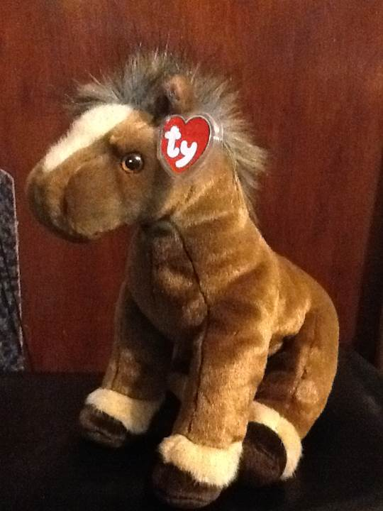 Tornado Beanie Baby front image (front cover)