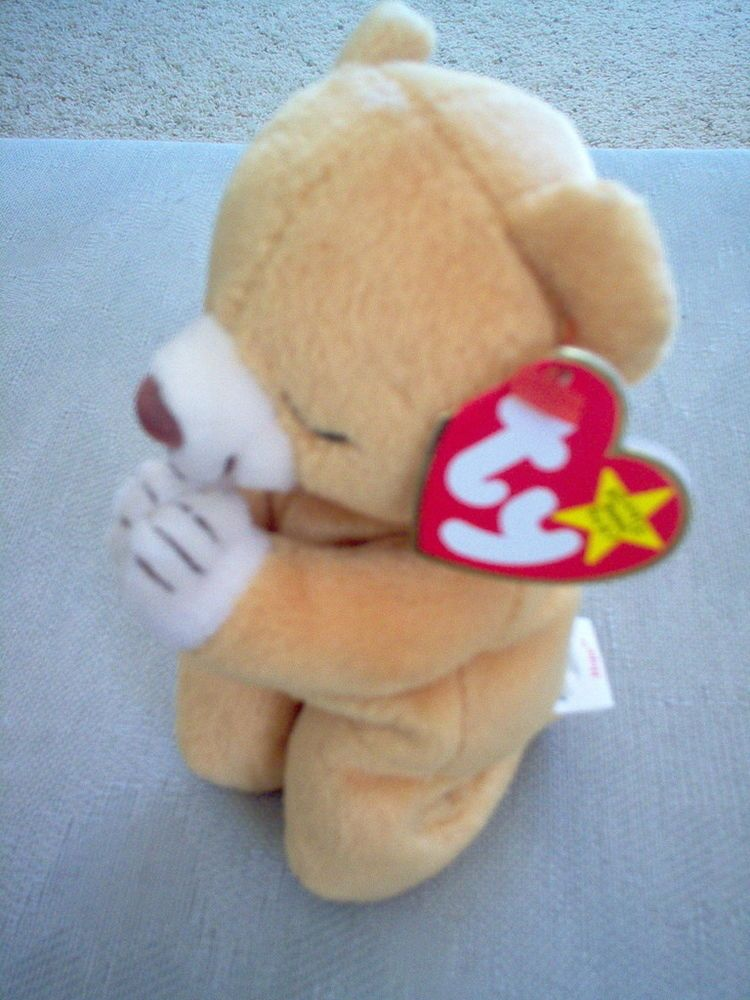 Hope Beanie Baby - Orange (4213) back image (back cover, second image)