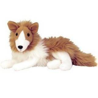 Cassie The Collie Beanie Baby - Brown (4340) front image (front cover)