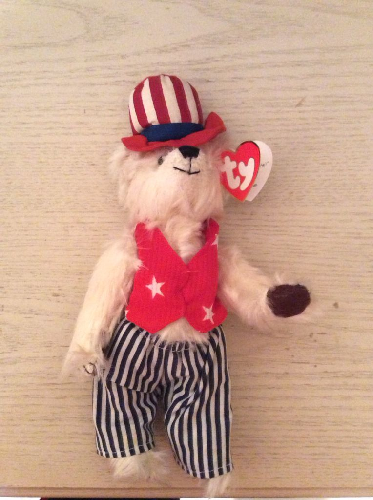 Uncle Sam Beanie Baby front image (front cover) f7056f75ff6