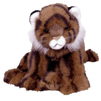 TY Classic Plush - BENGAL the Tiger (9 inch) Beanie Baby - from Sort ... 93d21ebb8014