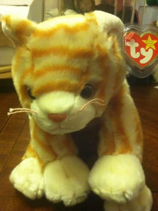 Ty beanie buddy - amber the gold tabby cat Beanie Baby (9341) - from ... 6f1e7ce81da0