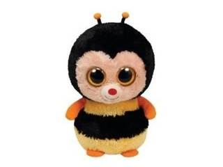 Ty Beanie Boos - Sting The Bumble Bee Beanie Baby - Yellow (36066) front d22182fb992