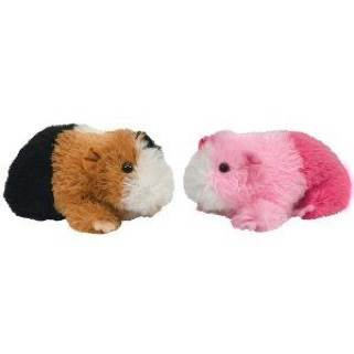 Ty beanie baby - sweet set of 2 guinea pigs - pinky and patches - plush 43ab23009ca