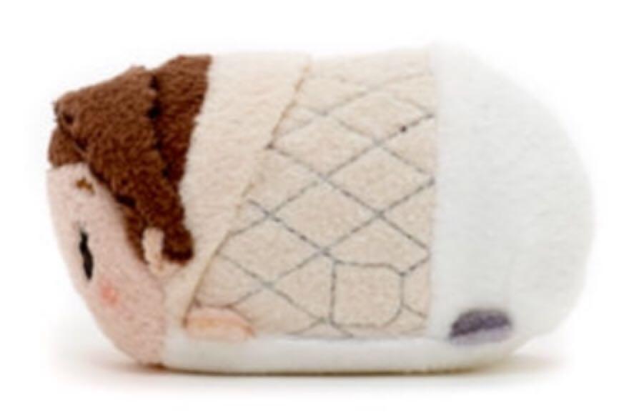 Star Wars  Hoth Princess Leia Disney Tsum Tsum 3.5 Beanie Baby back image  (back b6913cbc6ba