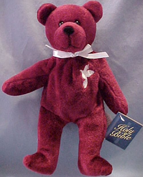 Grace Holy Bears Sacrament Series 1999 Beanie Baby - Red front image (front  cover) e11498bdd60